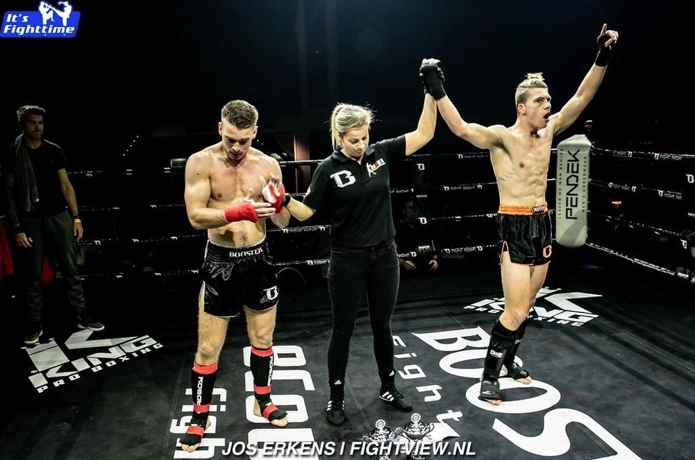Thaiboksgala overwinning door Bronski gym Ieper