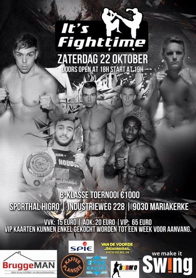 Wedstrijd – It's Fighttime in Mariakerke