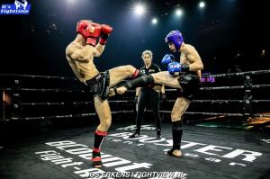 Thaiboksgala mariakerke en overwinning voor Bronski Gym Ieper