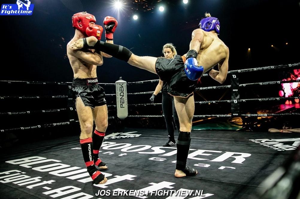 Highkick Thaiboksgala mariakerke en overwinning voor Bronski Gym Ieper