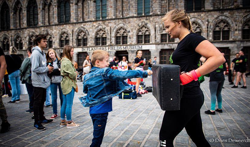 Thaiboksen en kickboksen in Ieper voor kinderen