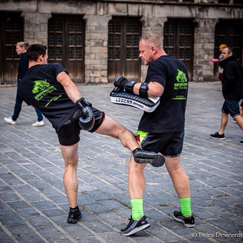 Thaiboksen en kickboksen in Ieper