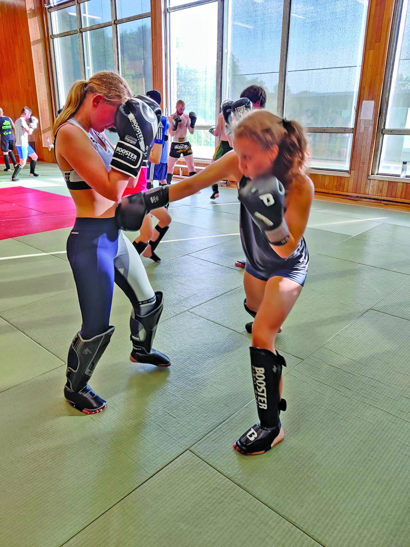 Kickboksen voor dames in Ieper